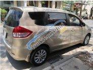 Bán Suzuki Ertiga 7 chỗ, AT, Bstp, vàng ghi, Sx 2015, đã đóng lệ phí GT/ĐK tới 2019 giá 430 triệu tại Tp.HCM