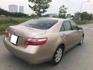Cần bán xe Toyota Camry 2.4LE tự động đời 2007 màu nâu vàng giá 496 triệu tại Tp.HCM
