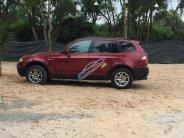 Bán xe BMW X3 2.5i đăng ký 2008, màu đỏ, xe nhập giá 295 triệu tại Tp.HCM
