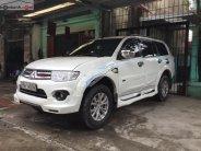 Cần bán xe Mitsubishi Pajero Sport G 4x4 AT năm 2014, màu trắng   giá 650 triệu tại Hải Phòng