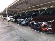 Bán Hyundai Santa Fe 2019, giao ngay, xe có sẵn giá 1 tỷ 195 tr tại Kiên Giang