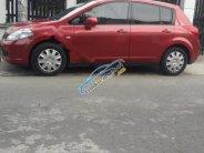 Gia đình bán gấp Nissan Tiida đời 2008, màu đỏ, nhập khẩu nguyên chiếc, giá 370tr giá 370 triệu tại Tp.HCM