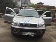 Bán Hyundai Santa Fe năm 2004, màu bạc, nhập khẩu nguyên chiếc xe gia đình, giá tốt giá 265 triệu tại Hà Nội