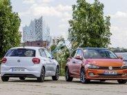 Bán Volkswagen Polo sản xuất 2018, nhập khẩu, màu cam giá 695 triệu tại Đà Nẵng