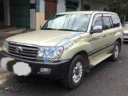 Bán xe Toyota Land Cruiser sản xuất năm 2005, màu vàng cát giá 425 triệu tại Tp.HCM