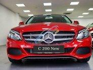 Bán Mercedes C200 đời 2018, màu đỏ, nội thất kem ở Đắk Lắk giá 1 tỷ 489 tr tại Đắk Lắk