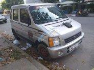 Cần bán gấp Suzuki Wagon R năm 2002, màu bạc, nhập khẩu nguyên chiếc, giá 80tr giá 80 triệu tại Tp.HCM