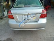 Cần bán lại xe Daewoo Gentra MT đời 2010, màu bạc, 1 chủ sử dụng giá 200 triệu tại Tây Ninh