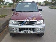 Cần bán gấp Daihatsu Terios 1.3MT đời 2005, màu đỏ, xe nhập giá 215 triệu tại Hà Tĩnh
