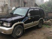 Bán xe Isuzu Trooper SE sx 2003, số tay, máy xăng, dẫn động 4 bánh, màu đen, nội thất màu kem giá 130 triệu tại Hà Nội