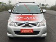 Bán ô tô Toyota Innova 2.0G năm sản xuất 2009, màu bạc giá 418 triệu tại Hà Nội