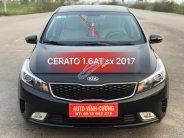 Bán ô tô Kia Cerato 1.6AT năm 2017, màu đen giá 595 triệu tại Hà Nội