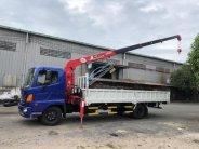 Bán xe tải cẩu Hino, gắn cẩu Unic 3 tấn 4 khúc giao ngay giá 1 tỷ 400 tr tại Tp.HCM