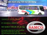 Bán ô tô Samco Felix Gi năm 2018 29/34 Ghế Thái giá 1 tỷ 850 tr tại Cần Thơ