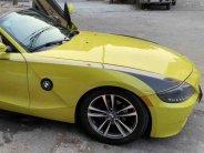 Cần bán BMW Z4 2003 đk 2008 số tự động màu vàng mui trần, 2 chỗ giá 686 triệu tại Tp.HCM
