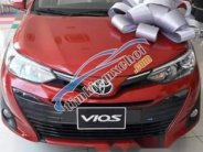 Bán xe Toyota Vios sản xuất năm 2019, màu đỏ giá 569 triệu tại Bạc Liêu