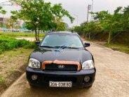 Bán ô tô Hyundai Santa Fe sản xuất năm 2004, màu đen, xe nhập giá 268 triệu tại Phú Thọ