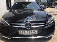 Cần bán gấp Mercedes C250 AMG đời 2015, màu đen, nhập khẩu nguyên chiếc giá 1 tỷ 320 tr tại Tp.HCM