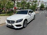 Mercedes C300 AMG 2018 màu trắng, bản số tự động 9 cấp, 245hp giá 1 tỷ 768 tr tại Tp.HCM