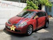 Bán Nissan Tiida năm sản xuất 2008, màu đỏ, nhập khẩu nguyên chiếc  giá 330 triệu tại Tp.HCM
