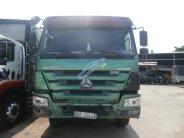 Ngân hàng bán đấu giá xe tải tự đổ CNHTC đời 2015, màu xanh lục, nhập khẩu giá 750 triệu tại Tp.HCM