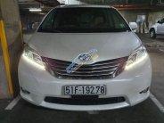 Bán Toyota Sienna Limited đời 2013, màu trắng, xe nhập  giá 2 tỷ 500 tr tại Tp.HCM