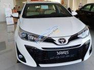 Bán Toyota Yaris sản xuất 2019, màu trắng, nhập khẩu giá 740 triệu tại Tp.HCM