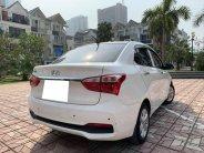 Bán xe Hyundai i10 sedan 1.2, số sàn, sản xuất 2018 màu trắng tinh giá 376 triệu tại Tp.HCM