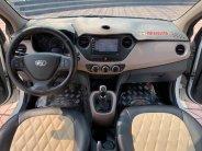 Bán xe Huyndai I10 sedan 1.2, số sàn, sản xuất 2018 màu trắng tinh giá 376 triệu tại Tp.HCM