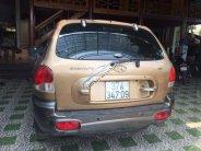 Bán Hyundai Santa Fe năm sản xuất 2002, màu vàng, nhập khẩu Hàn Quốc  giá 235 triệu tại Nghệ An