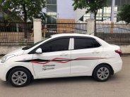 Bán xe Huyndai I10 sedan 1.2, số sàn, mâm sắt, sản xuất 2018 màu trắng tinh giá 376 triệu tại Tp.HCM