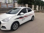 Bán xe Huyndai I10 sedan 1.2, số sàn, mâm sắt, sản xuất 2018 màu trắng tinh. giá 376 triệu tại Tp.HCM
