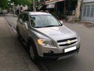 Cần bán xe Chevrolet Captiva 2007 LTZ số tự động màu bạc, cọp zin BSTP còn bốn số giá 273 triệu tại Tp.HCM