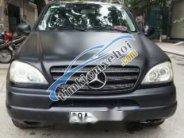 Bán Mercedes ML320 đời 2002, màu đen, nhập khẩu  giá 250 triệu tại Hà Nội