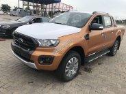 Cần bán Ford Ranger wildtrak 2.0 4x4 năm 2019, màu cam, nhập khẩu nguyên chiếc, giá chỉ 863 triệu giá 863 triệu tại Bắc Giang