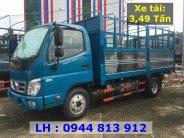 Thaco Binh Duong ban xe tai Thaco Ollin 350.E4 - Thùng mui bạt 3,49 tấn - Hỗ trợ trả góp Bình Dương giá 354 triệu tại Bình Dương