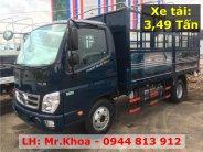 Xe tải Ollin350.E4 - Lưu thông thành phố - Thùng mui bạt 5 bửng dài 4m3 - Hỗ trợ vay vốn 75% giá 354 triệu tại Tp.HCM