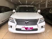Bán ô tô Lexus LX 570 năm 2014, màu trắng, nhập khẩu chính hãng, chính chủ giá 4 tỷ 430 tr tại Hà Nội