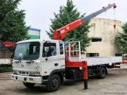 Bán xe tải Hyundai HD120SL, gắn cẩu Unic 3 tấn giá 750 triệu tại Hà Nội