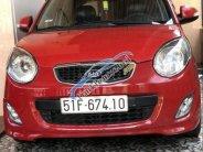 Bán gấp Kia Morning SX năm 2010, màu đỏ, số tự động giá 247 triệu tại Đồng Nai