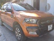 Bán Ford Ranger Wildtrak màu cam, máy 3.2, số tự động, đời 2016, xe không đâm đụng giá 750 triệu tại Thanh Hóa