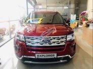 Cần bán xe Ford Explorer sản xuất năm 2019, màu đỏ, nhập khẩu nguyên chiếc giá 2 tỷ 260 tr tại Tp.HCM