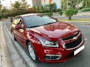 bán xe Chevrolet Cruze 2017 Ltz số tự động màu đỏ, giá 496 triệu tại Tp.HCM