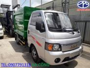 Xe chở rác JAC 3.5 khối động cơ Isuzu nhập khẩu giá 325 triệu tại Bình Dương