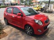 Cần bán xe Kia Morning 2011 số tự động màu đỏ giá 267 triệu tại Tp.HCM