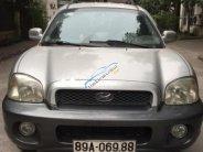 Cần bán xe Hyundai Santa Fe đời 2002, màu bạc, nhập khẩu nguyên chiếc giá 220 triệu tại Hưng Yên