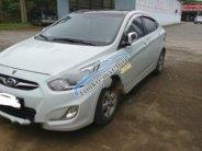 Cần bán gấp xe cũ Hyundai Accent 1.4AT 2011, màu trắng giá 380 triệu tại Lai Châu