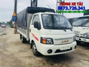 Xe tải JAC 1t25 thùng dài 3m2 bánh đôi giá 280 triệu tại Long An