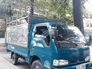 Bán xe Kia K3000S màu xanh, sx năm 2000, xe mui bạt thùng inox, máy móc gầm bệ chắc chắn giá 85 triệu tại Bình Dương