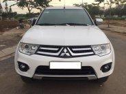 Cần bán xe Mitsubishi Pajero sport 3.0AT 2017 màu trắng giá 556 triệu tại Tp.HCM